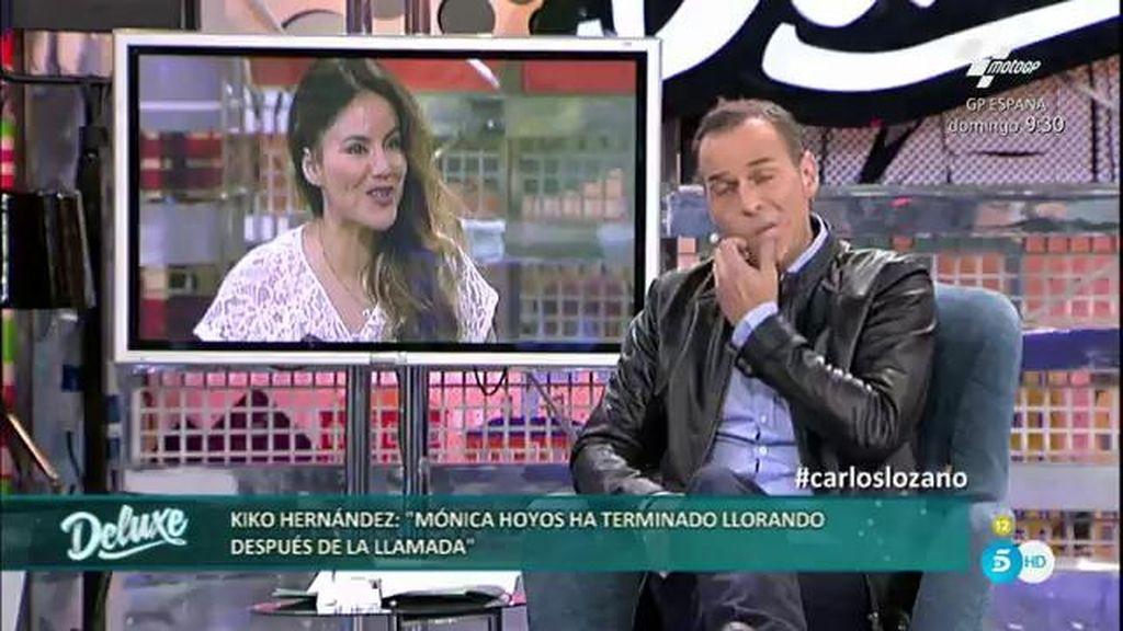 """Mónica Hoyos cuelga la llamada del 'Deluxe' llorando: """"Ha terminado destrozada"""""""