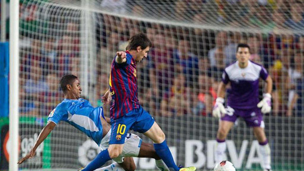 Goleada del Barça ante el Osasuna