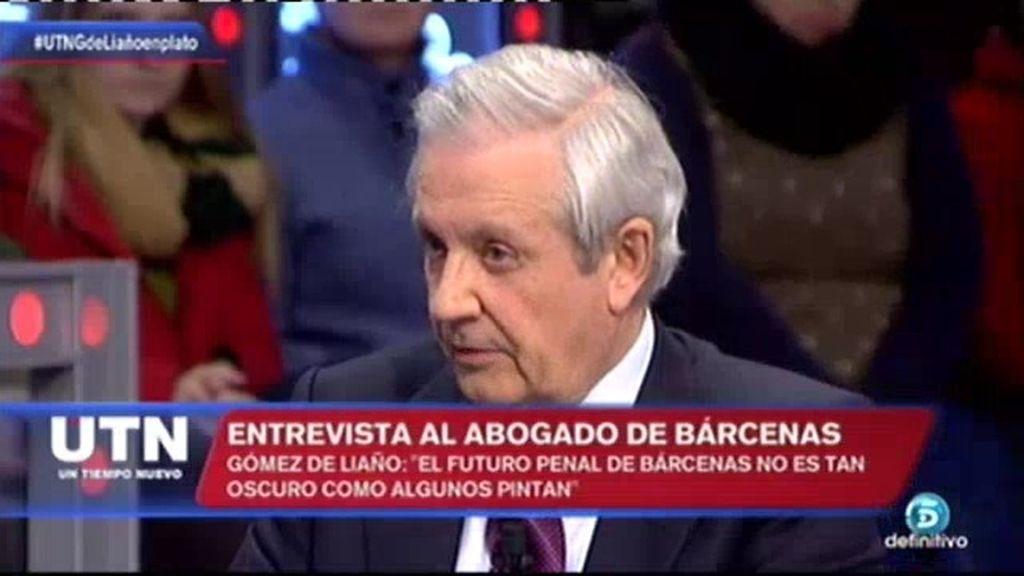 """G. de Liaño: """"Por algunos delitos, Bárcenas puede irse con solo 5 meses de pena"""""""