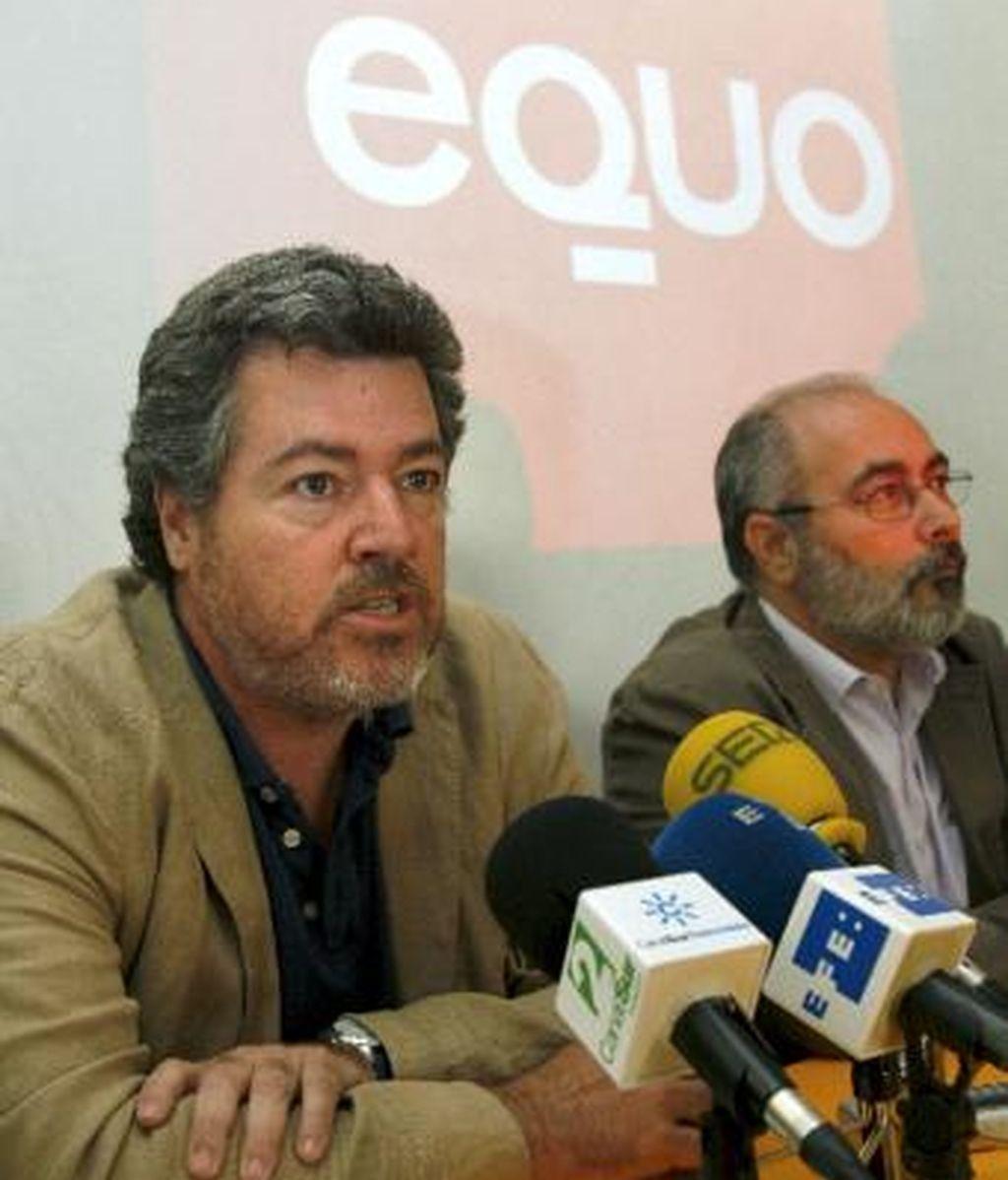 Juan López de Uralde, líder del partido ecologista Equo que aspira a presentarse en las próximas elecciones generales del 20 de noviembre.