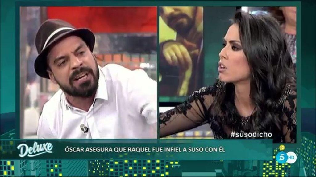 """Óscar: """"Me acosté con Raquel cuando Suso seguía en Gran Hermano"""""""