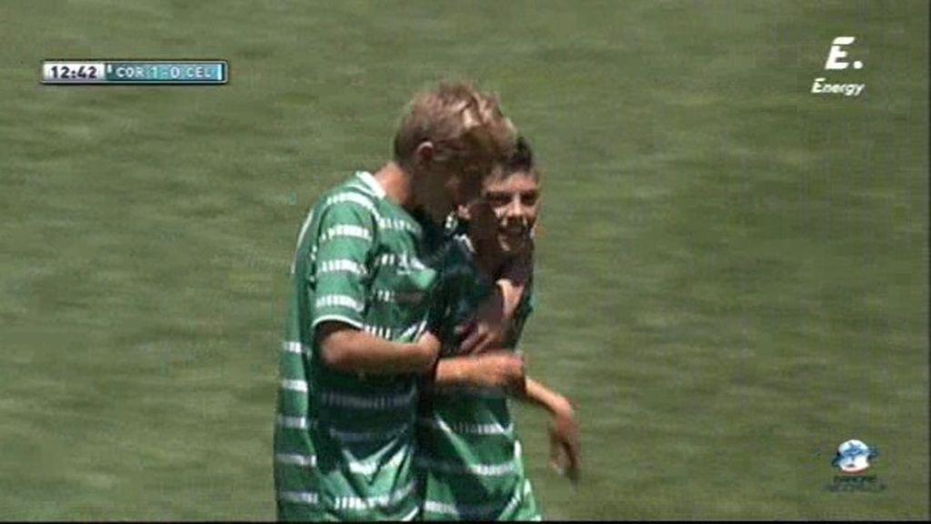 Thymos marca un golazo en una jugada individual y adelanta al Cornellá (1-0)