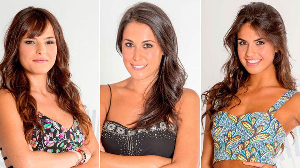 Marta, Raquel y Sofía, las nuevas nominadas de la semana