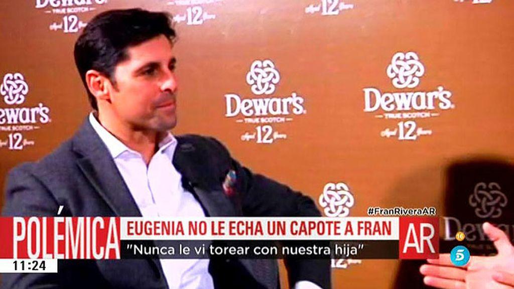 """Francisco Rivera: """"La acusación era muy seria y grave y me ha dolido mucho"""""""