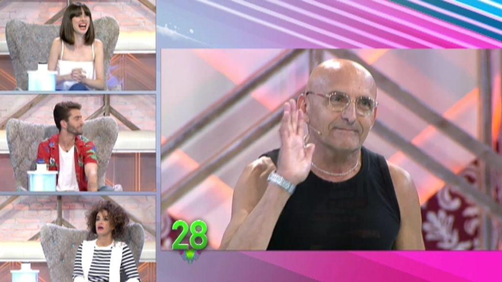 """Pelayo, tras ver el look con falda de Josep: """"Soy yo de mayor"""""""