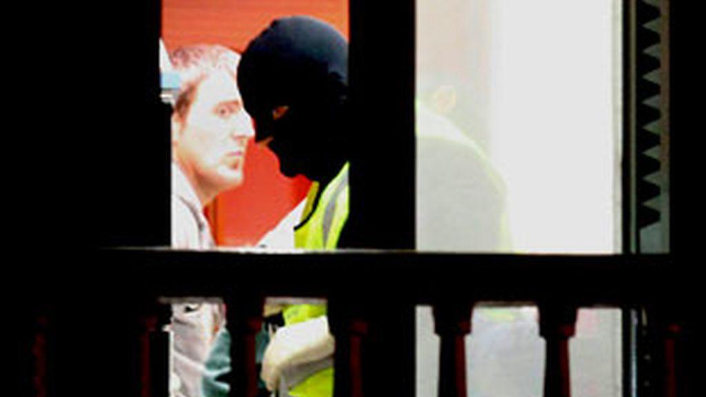Uno de los dos presuntos miembros de ETA detenidos este martes en Legorreta (Guipúzcoa). Vídeo: Informativos Telecinco