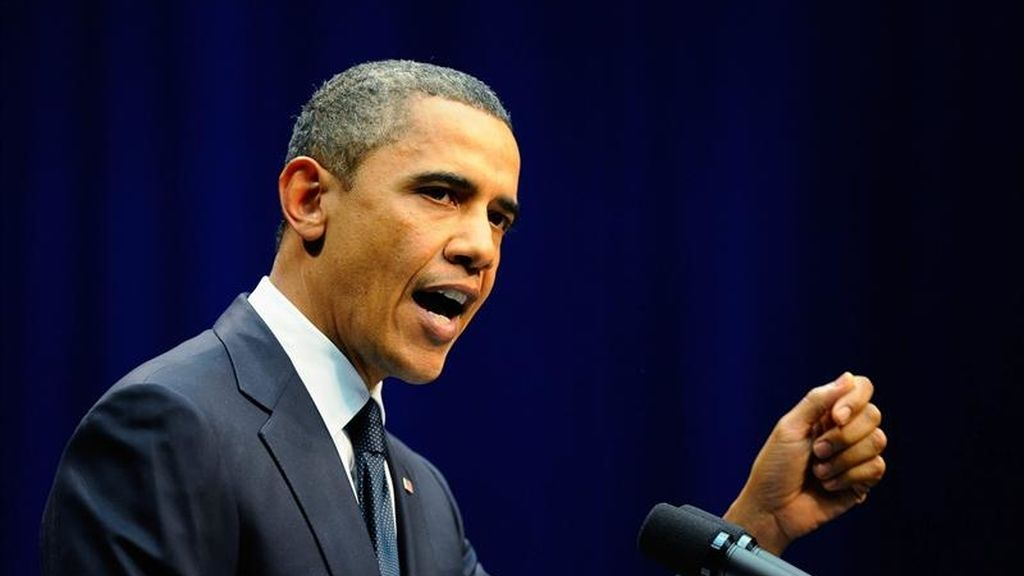 Ambos líderes abordarán, entre otros temas, el esfuerzo conjunto de Washington e Islamabad para combatir el terrorismo. En la imagen, el presidente estadounidense, Barack Obama. EFE
