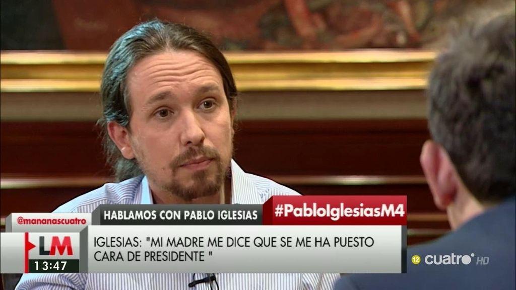 """Pablo Iglesias: """"Si se repiten las elecciones me dejaré la piel para intentar ser presidente del Gobierno"""""""
