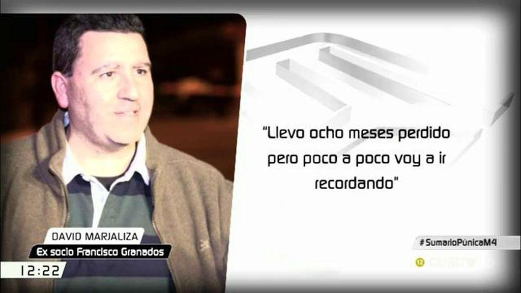 """David Marjaliza, ante el juez: """"Nosotros poníamos el dinero, comprábamos el suelo y Paco [Granados] lo recalificaba"""""""