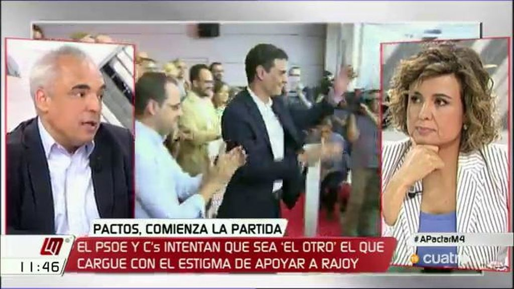 """Simancas (PSOE): """"Se da una paradoja, el PP ha obtenido un buen resultado pero se encuentra muy solo en el parlamento"""""""
