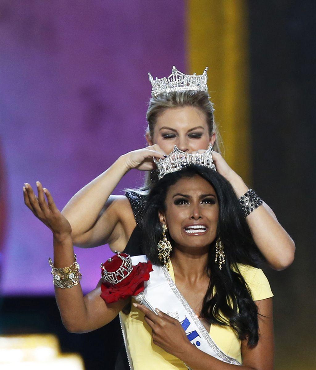 Nina Davuluri se alza con el título de Miss America