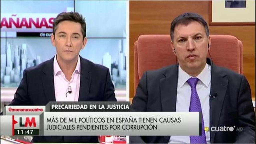 """Joaquim Bosch: """"Con los recursos que tenemos, el sistema judicial no está preparado para actuar contra la corrupción"""""""