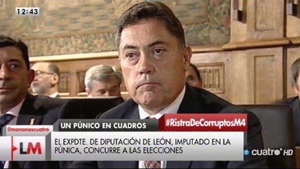 El expresidente de la Diputación de León, imputado en la 'Púnica', se presentará a las elecciones con otra agrupación