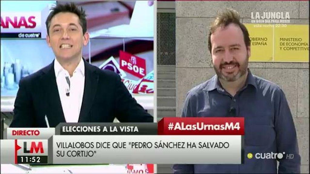 """José Fernández Albertos: """"Igual el escenario no acaba siendo diferente al del 20-D"""""""