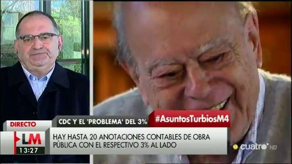 """Antón Losada: """"Hay una cosa que puedo confirmar y es que J.P. no es J.P Morgan"""""""
