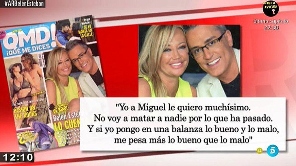 """Belén Esteban: """"Aunque esté separada, he tenido relaciones con Miguel"""""""