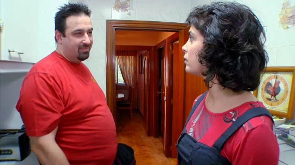 """Para José Luis """"todo son tentaciones, y la cocina es el habitáculo del mal"""""""