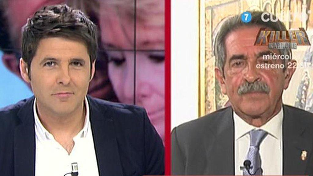 """Miguel Ángel Revilla, sobre Mariano Rajoy: """"Necesitamos un torero en la plaza"""""""