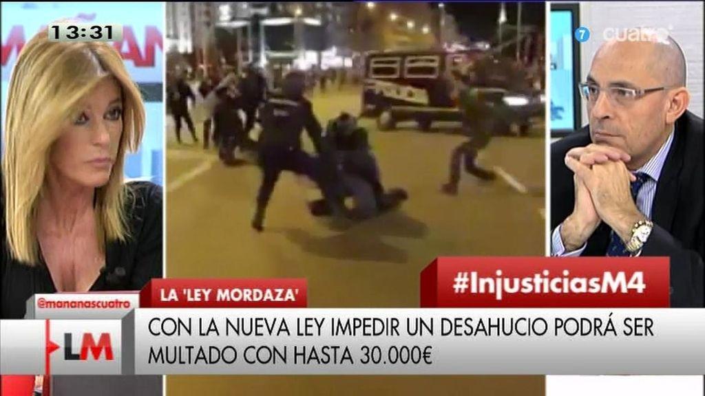"""Esther Palomera: """"La ley mordaza es un regreso al estado policial de hace 40 años"""""""