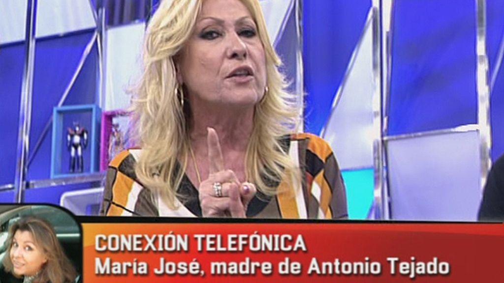 El enfado de Rosa Benito