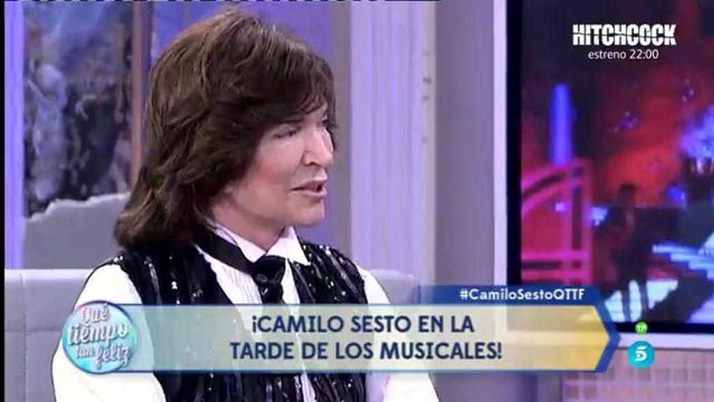 Camilo Sesto rememora el estreno del musical de Jesucristo Superstar en ¡QTTF!