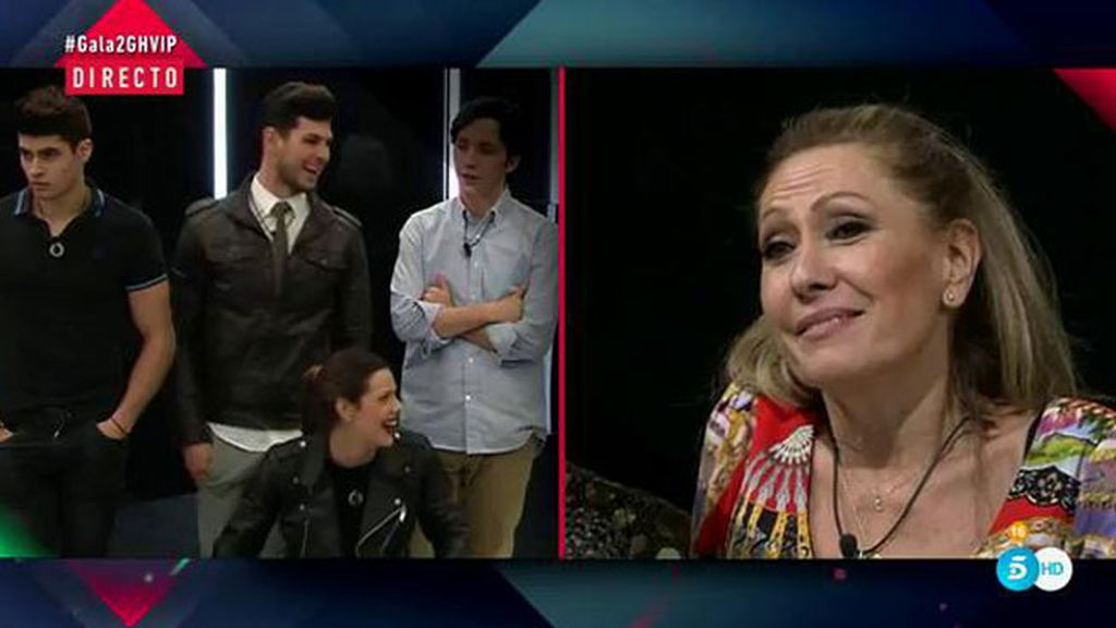 """Rosa: """"Estamos encantados con el grupo, y si Carmen no se siente a gusto…lo siento"""""""