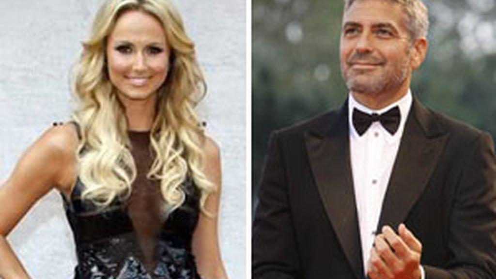 Satcy Keibler y George Clooney