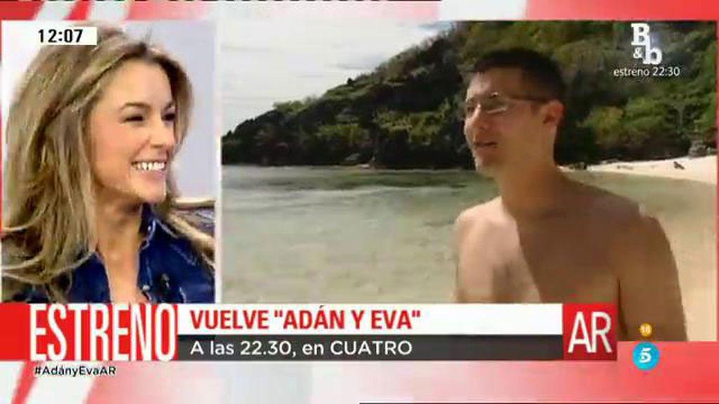"""Mónica Martínez: """"En 'Adán y Eva' hay tentación y pecado pero buscamos el amor"""""""