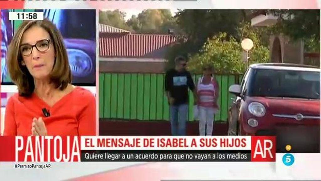 """P. García Pelayo: """"Isabel Pantoja ha pedido a sus hijos que no hablen con los medios"""""""
