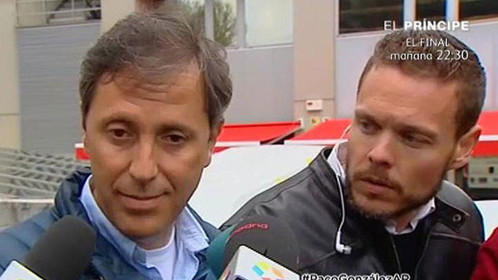 """Paco González: """"No he querido ni mirar a Lorena porque es muy desagradable"""""""