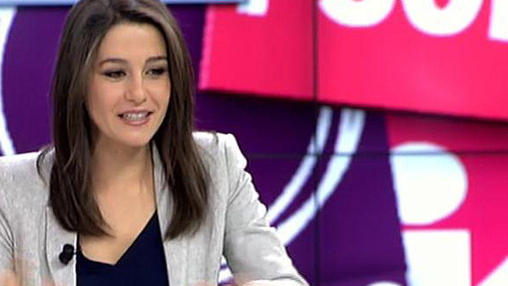 """Inés Arrimadas (Ciudadanos): """"Somos un partido de marca limpia"""""""