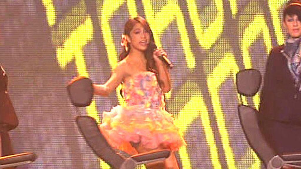 La actuación de Alexandra