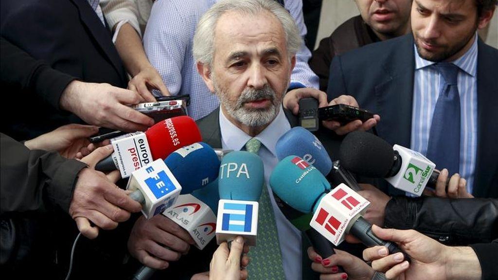 Francisco Álvarez-Cascos no ha comparecido este miércoles ante el juez. Vídeo: Informativos Telecinco.