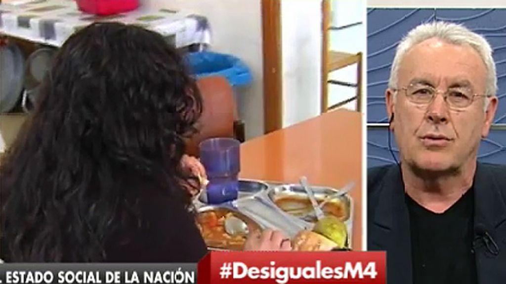 """Cayo Lara: """"Hay dos Españas, una que está en la cabeza de Rajoy y otra que sufre las consecuencias de sus políticas"""""""