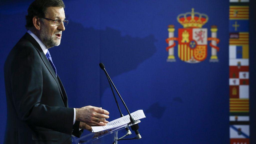 Rajoy avanza que España tendrá saldo positivo con la UE del 0,20 % de su PIB