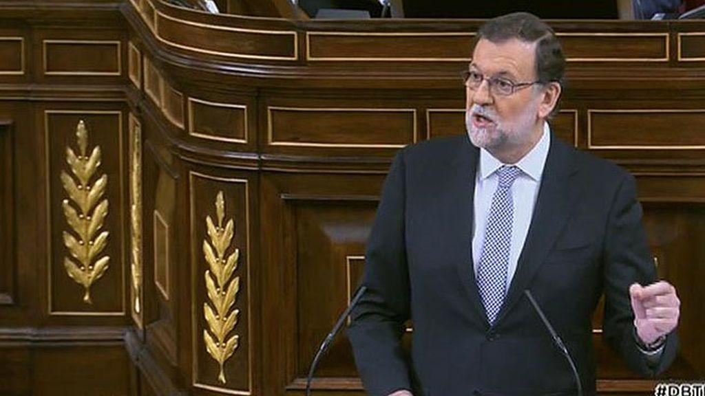"""Rajoy: """"Viene aquí para que los demás arreglen lo que usted no ha podido"""""""