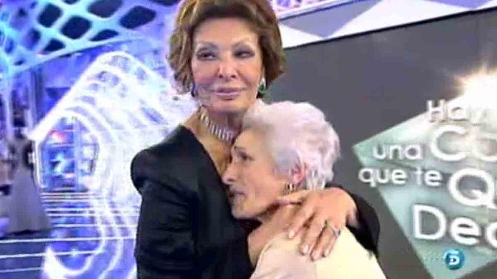 Mila y Sofía llevaban sin tener contacto desde los años 80