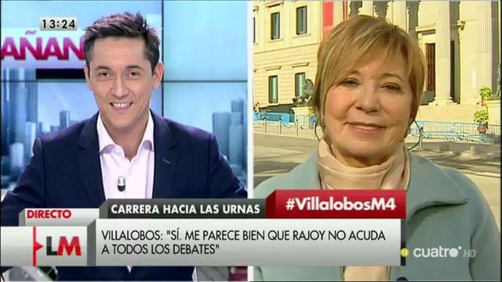 La entrevista con Celia Villalobos, a la carta