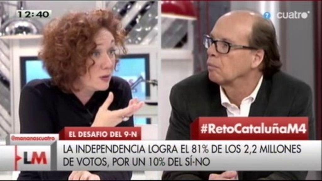 """Jaime González: """"En Cataluña hay gente abandonada por el estado y tienen miedo"""""""