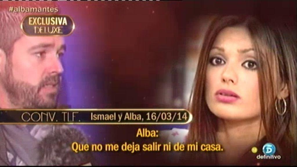"""Alba, a Ismael: """"La realidad es que me acuerdo de ti cada cinco minutos"""""""