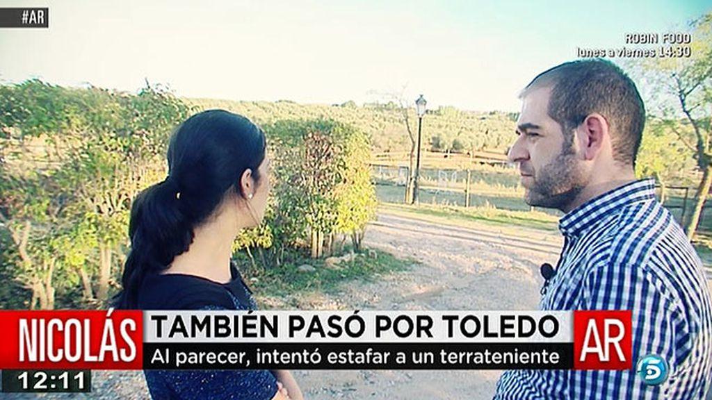 'AR' visita la finca del hombre que supuestamente fue estafado por el 'Pequeño Nicolás'