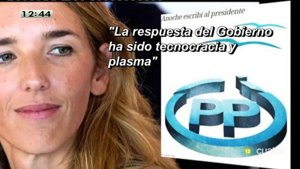"""Álvarez de Toledo: """"No podría ir en las listas porque no encuentro argumentos suficientes para defender la gestión del gobierno"""""""