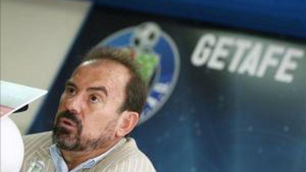 El presidente del Getafe, Ángel Torres. Foto: EFE/Archivo.