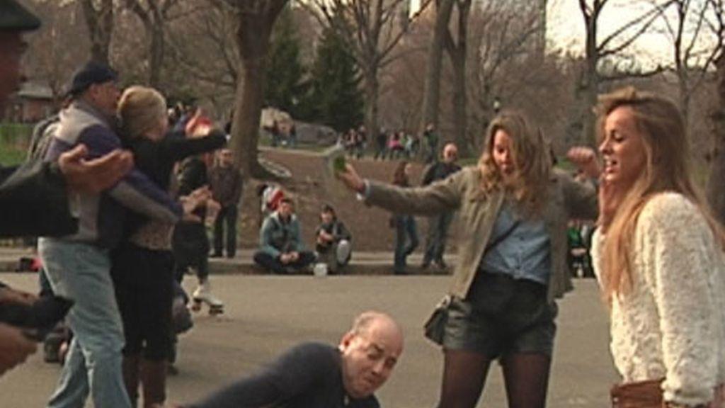 Laura bailando