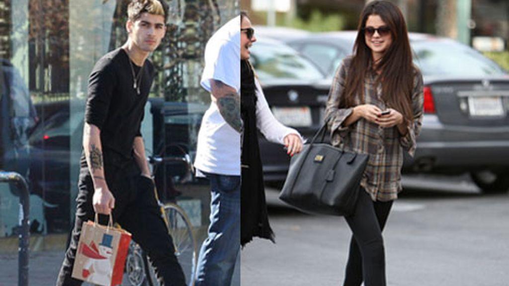 Zayn Malik de One Direction quiere robarle un beso a Selena Gómez