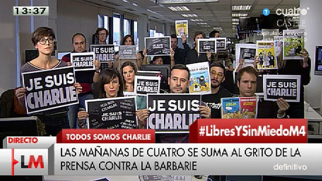 'Las Mañanas de Cuatro' se suma al grito de la prensa contra la barbarie