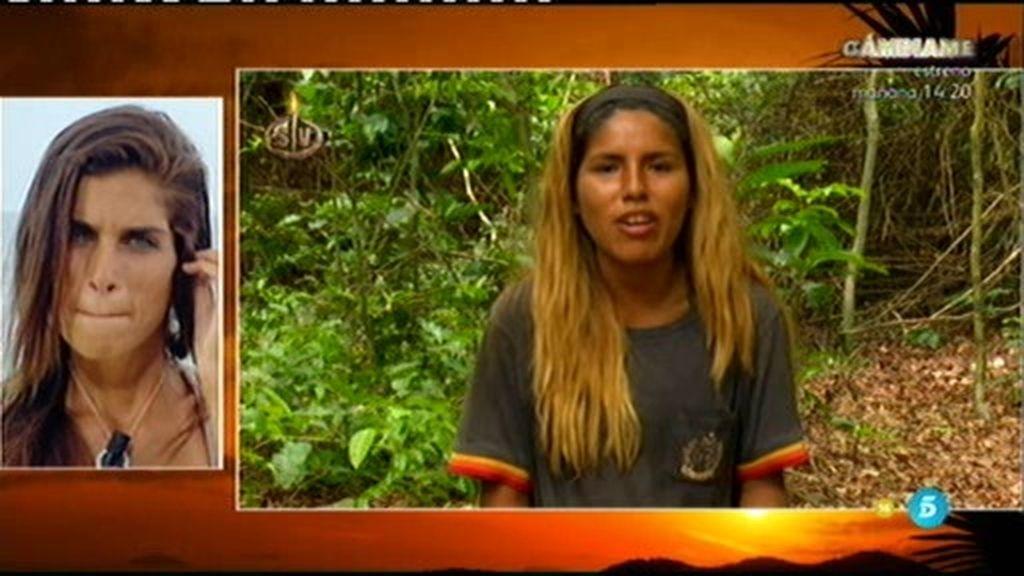 """Isa Pantoja se olvida de Suhaila: """"Hoy ha sido un día bueno, me lo he pasado bien"""""""