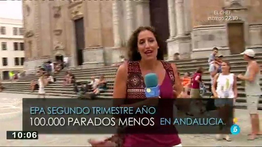 Andalucía, una de las comunidades donde más empleo se ha generado