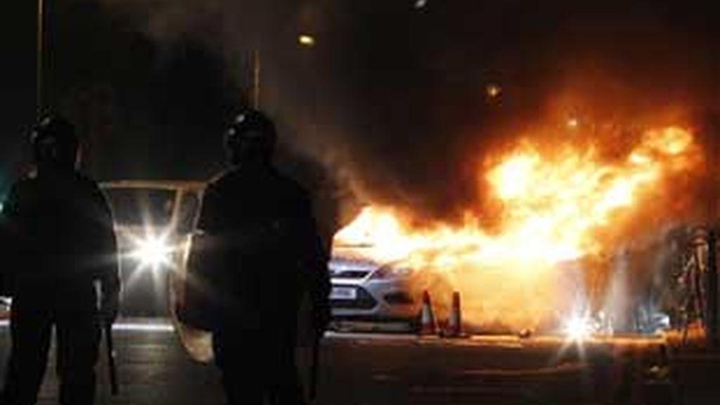 Los disturbios se han extendido a otras ciudades británicas. FOTO: EFE