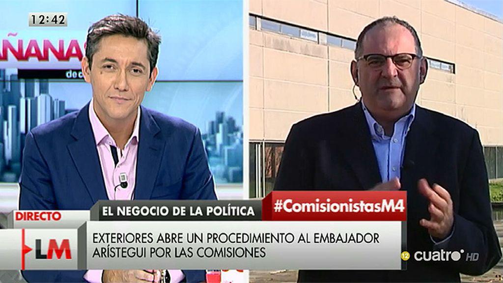 """Losada: """"El PP debería preguntarse qué son, si un partido político o una asesoría"""""""